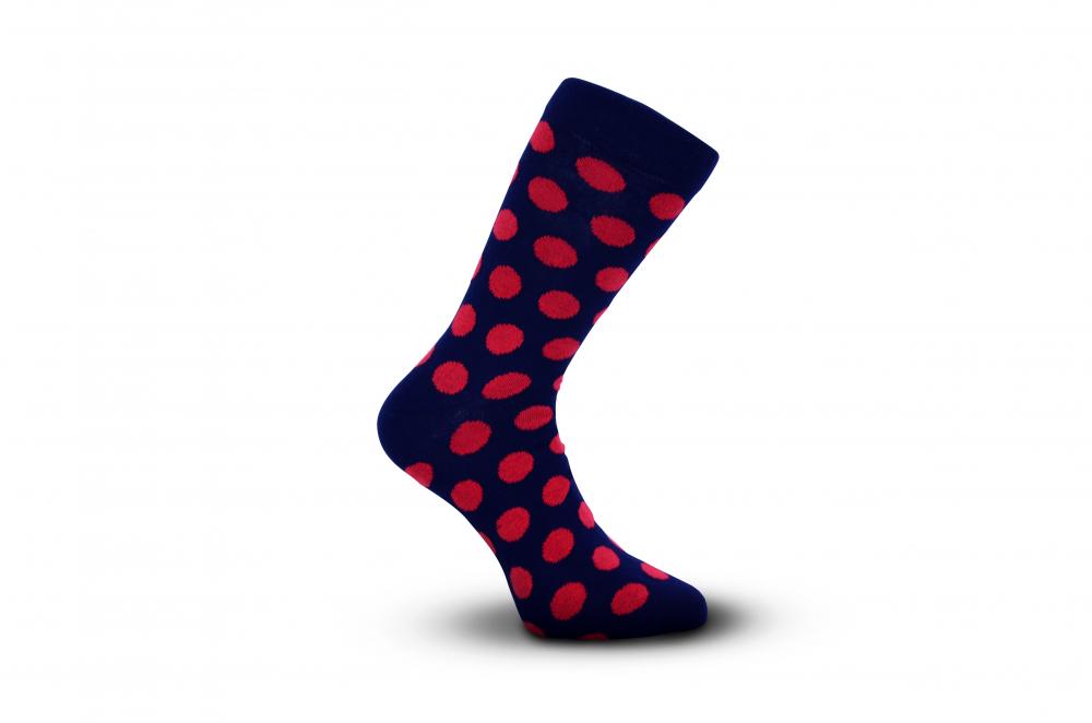 Dot / Puntíkovky velké červené puntíky